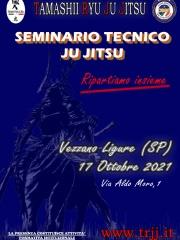 Seminario Tecnico TRJJ di Kata e Difesa Personale-17 ottobre 2021
